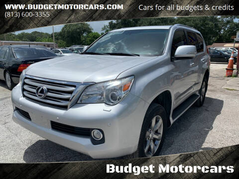 2012 Lexus GX 460 for sale at Budget Motorcars in Tampa FL