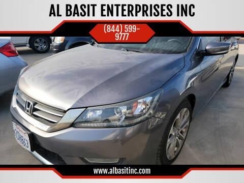 2013 Honda Accord for sale at AL BASIT ENTERPRISES INC in Riverside CA