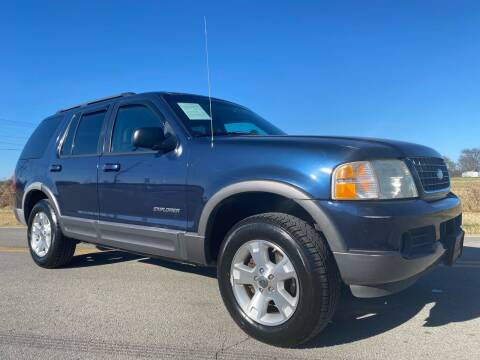 2002 Ford Explorer for sale at ILUVCHEAPCARS.COM in Tulsa OK
