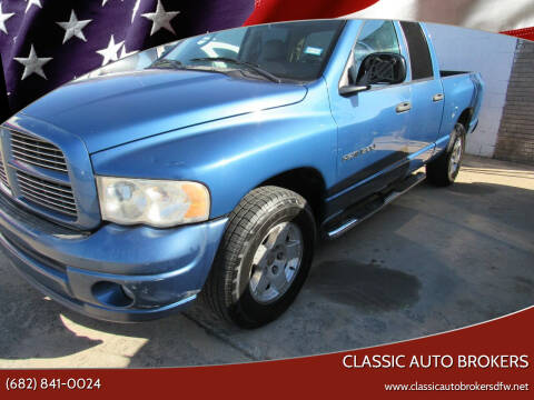 2005 Dodge Ram Pickup 1500 for sale at Classic Auto Brokers in Haltom City TX