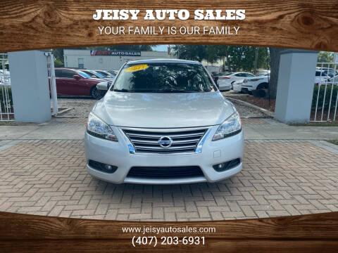 2013 Nissan Sentra for sale at JEISY AUTO SALES in Orlando FL