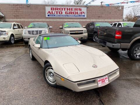 1986 Chevrolet Corvette for sale at Brothers Auto Group in Youngstown OH