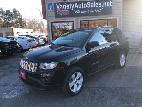 2016 Jeep Compass for sale at Variety Auto Sales in Worcester MA