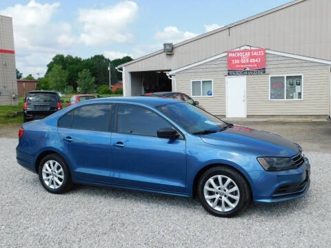 2015 Volkswagen Jetta for sale at Macrocar Sales Inc in Akron OH
