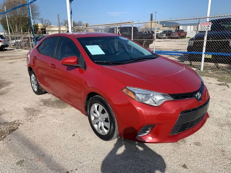 2015 Toyota Corolla for sale at Atrium Autoplex in San Antonio TX