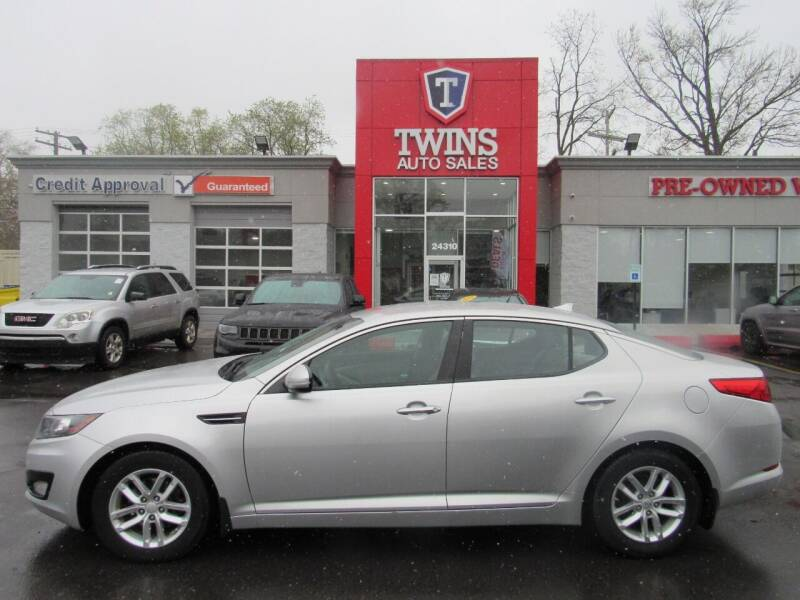 2013 Kia Optima for sale at Twins Auto Sales Inc in Detroit MI
