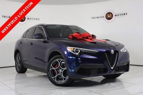 2018 Alfa Romeo Stelvio for sale at INDY'S UNLIMITED MOTORS - UNLIMITED MOTORS in Westfield IN