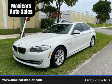 2013 BMW 5 Series for sale at Maxicars Auto Sales in West Park FL