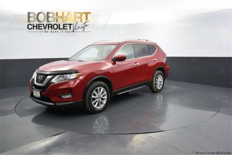 2017 Nissan Rogue for sale at BOB HART CHEVROLET in Vinita OK