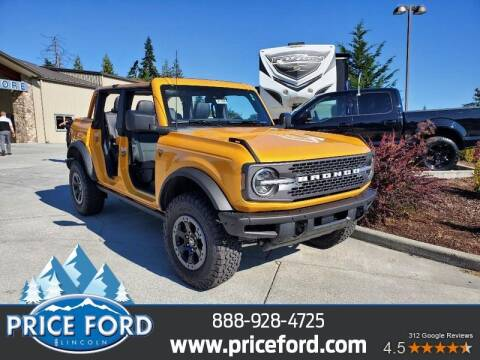 2021 Ford Bronco for sale at Price Ford Lincoln in Port Angeles WA
