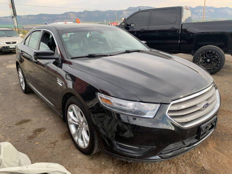 2013 Ford Taurus for sale at 4X4 Auto in Cortez CO