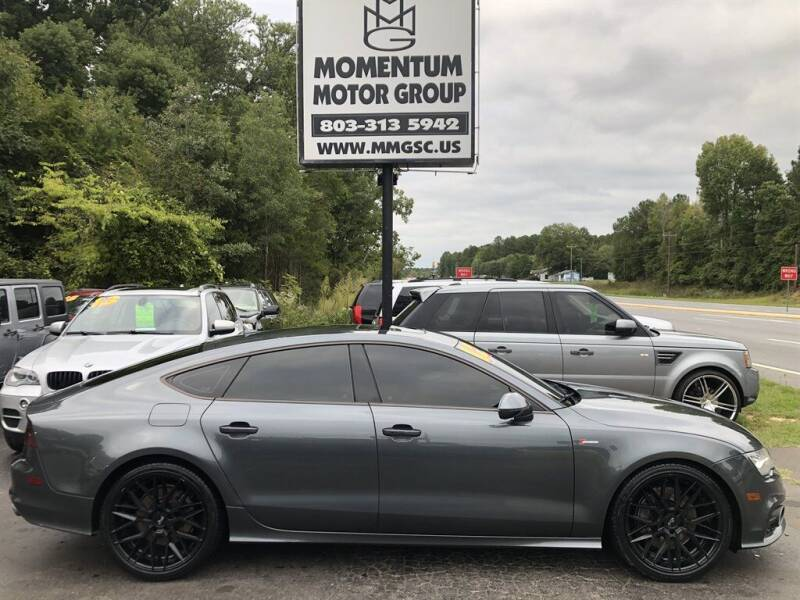 2012 Audi A7 for sale at Momentum Motor Group in Lancaster SC