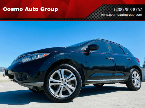 2013 Nissan Murano for sale at Cosmo Auto Group in San Jose CA