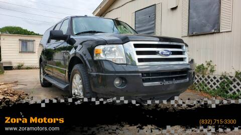 2013 Ford Expedition EL for sale at Zora Motors in Houston TX