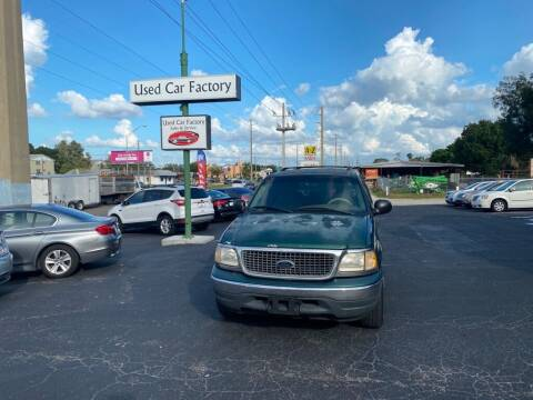 2000 Ford Expedition for sale at Used Car Factory Sales & Service in Bradenton FL