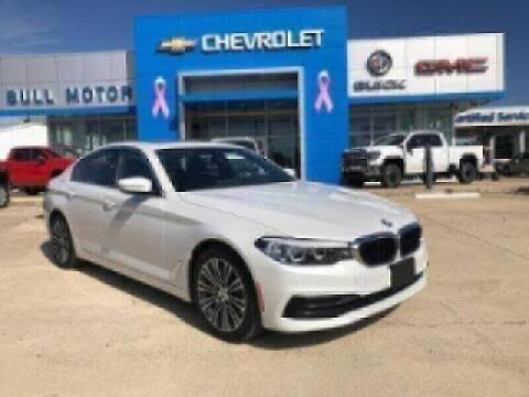 2019 BMW 5 Series for sale at BULL MOTOR COMPANY in Wynne AR