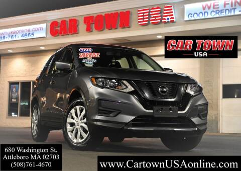 2017 Nissan Rogue for sale at Car Town USA in Attleboro MA