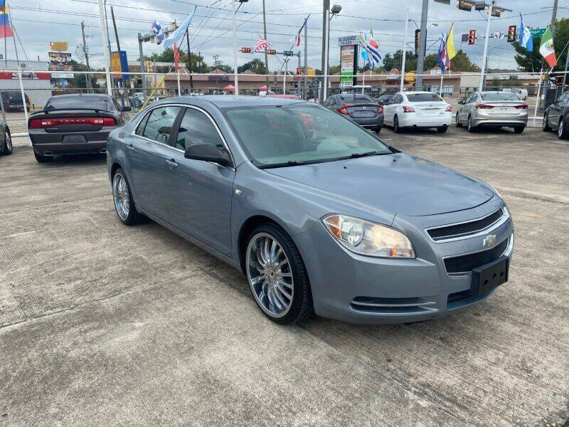 2008 Chevrolet Malibu for sale at Sam's Auto Sales in Houston TX