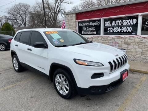 2015 Jeep Cherokee for sale at GOL Auto Group in Austin TX