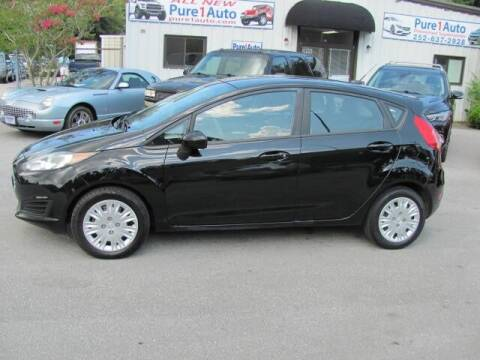 2016 Ford Fiesta for sale at Pure 1 Auto in New Bern NC