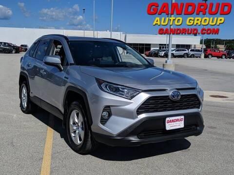 2020 Toyota RAV4 Hybrid for sale at Gandrud Dodge in Green Bay WI