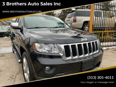 2013 Jeep Grand Cherokee for sale at 3 Brothers Auto Sales Inc in Detroit MI
