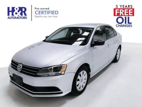 2015 Volkswagen Jetta for sale at H&R Auto Motors in San Antonio TX