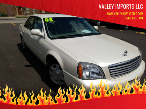 2003 Cadillac DeVille for sale at VALLEY IMPORTS LLC in Cincinnati OH