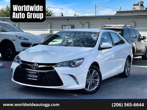 2017 Toyota Camry for sale at Worldwide Auto Group in Auburn WA