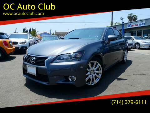 2015 Lexus GS 350 for sale at OC Auto Club in Midway City CA