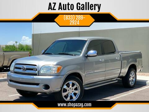 2006 Toyota Tundra for sale at AZ Auto Gallery in Mesa AZ