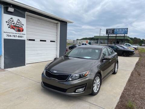 2014 Kia Optima for sale at NATIONAL CAR AND TRUCK SALES LLC - National Car and Truck Sales in Concord NC