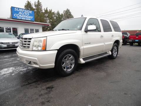 2006 Cadillac Escalade for sale at Surfside Auto Company in Norfolk VA