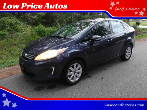 2013 Ford Fiesta for sale at Low Price Autos in Beaumont TX
