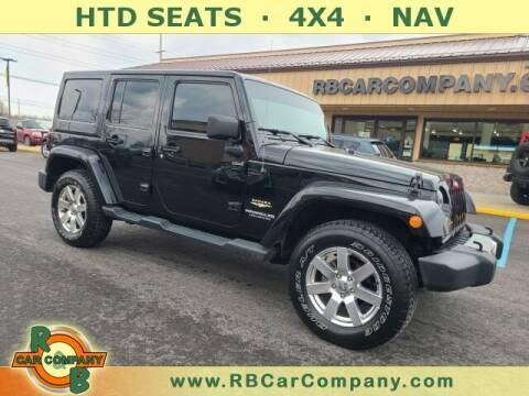 2014 Jeep Wrangler Unlimited for sale at R & B Car Company in South Bend IN