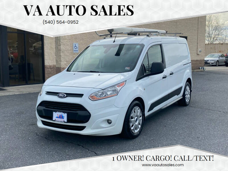 2016 Ford Transit Connect Cargo for sale at Va Auto Sales in Harrisonburg VA