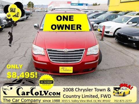 2008 Chrysler Town and Country for sale at The Car Company in Las Vegas NV
