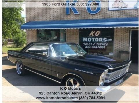 1965 Ford Galaxie 500 COYOTE 5.0L for sale at K O Motors in Akron OH