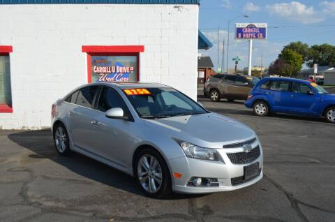 2012 Chevrolet Cruze for sale at CARGILL U DRIVE USED CARS in Twin Falls ID