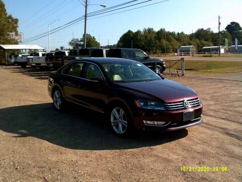 2012 Volkswagen Passat for sale at Tom Boyd Motors in Texarkana TX