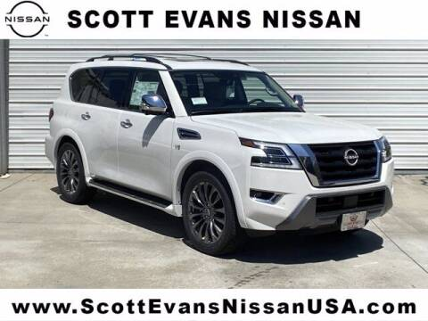 2021 Nissan Armada for sale at Scott Evans Nissan in Carrollton GA