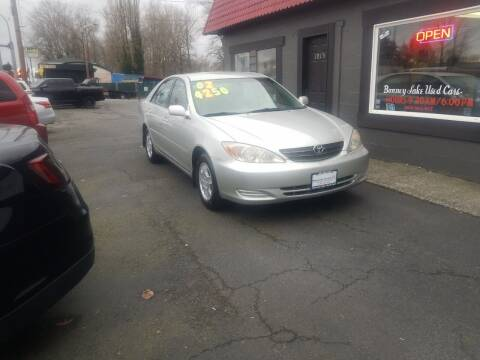 2002 Toyota Camry for sale at Bonney Lake Used Cars in Puyallup WA