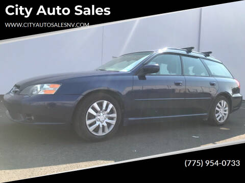 2005 Subaru Legacy for sale at City Auto Sales in Sparks NV