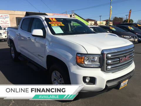 2016 GMC Canyon for sale at Super Cars Sales Inc #1 in Oakdale CA