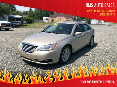 2014 Chrysler 200 for sale at Jims Auto Sales in Lakehurst NJ