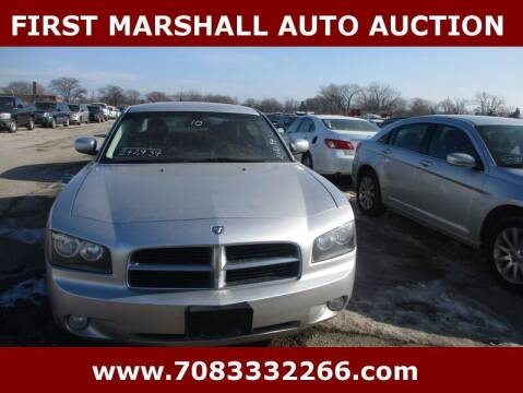 2010 Dodge Charger for sale at First Marshall Auto Auction in Harvey IL