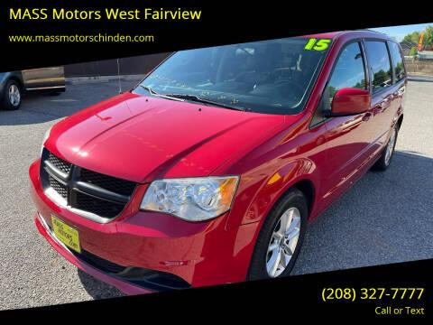 2015 Dodge Grand Caravan for sale at M.A.S.S. Motors - West Fairview in Boise ID