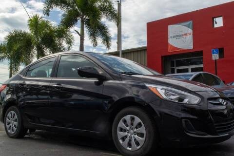 2017 Hyundai Accent for sale at Florida Auto Reserve in Medley FL