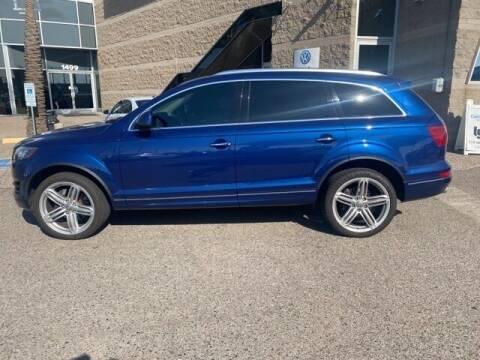 2015 Audi Q7 for sale at Camelback Volkswagen Subaru in Phoenix AZ