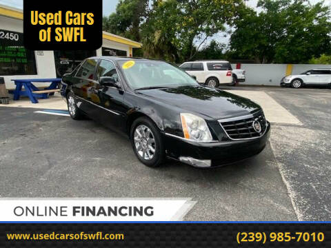 2011 Cadillac DTS for sale at Used Cars of SWFL in Fort Myers FL
